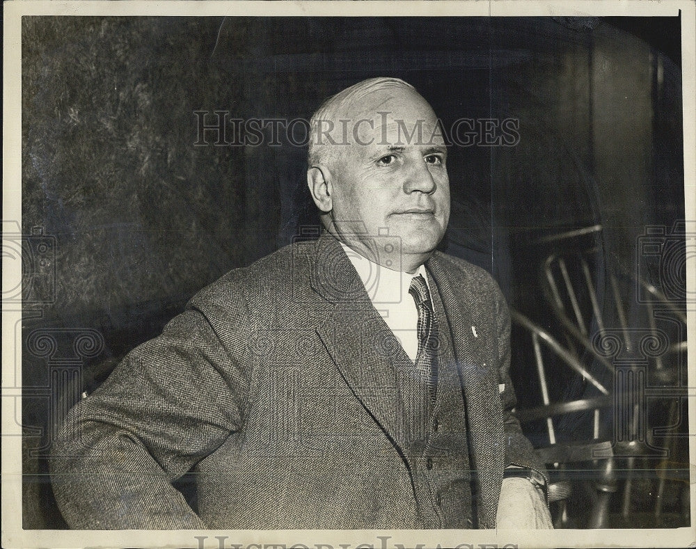 1934 Press Photo Revere Masa. Mayor Cassasa - Historic Images
