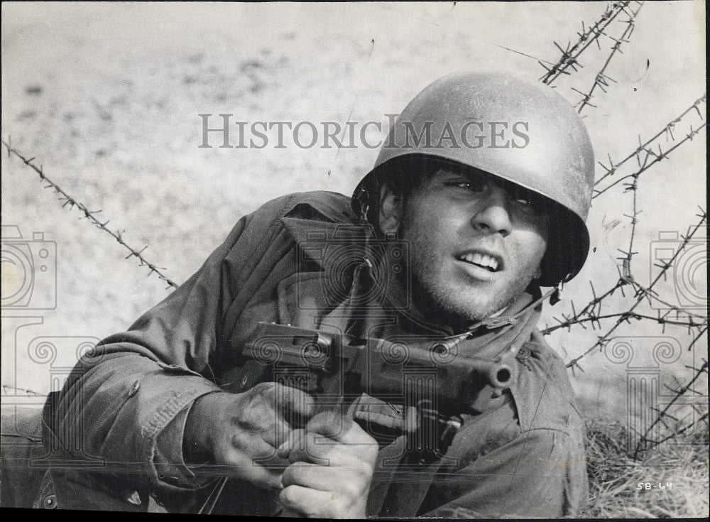 "1962 Press Photo Actor Fabian in ""The Longest Day"" - Historic Images"