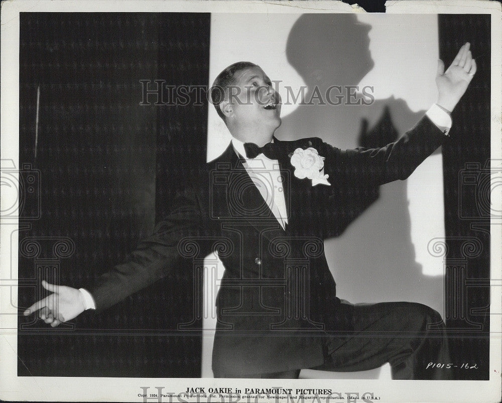 "1934 Press Photo Jack Oakie ""Murder at the Vanities"" - Historic Images"