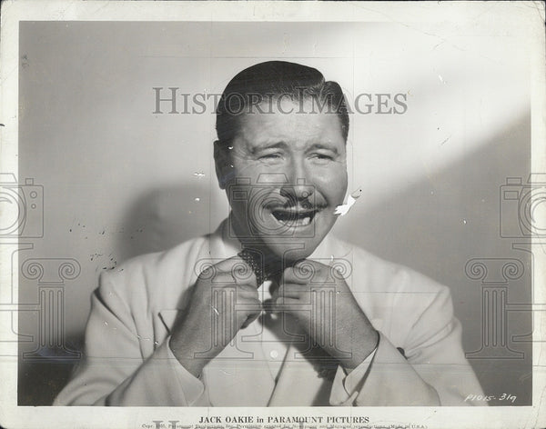"1940 Press Photo Actor Jack Oakie in ""Collegiate"" Film - Historic Images"