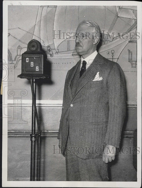 1932 Press Photo Bainbridge Colby, former Secretary of State - Historic Images