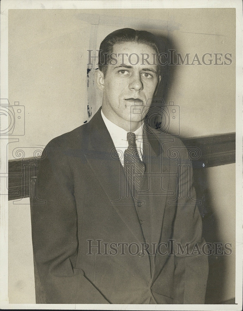 1934 Press Photo Clement Molway - Historic Images