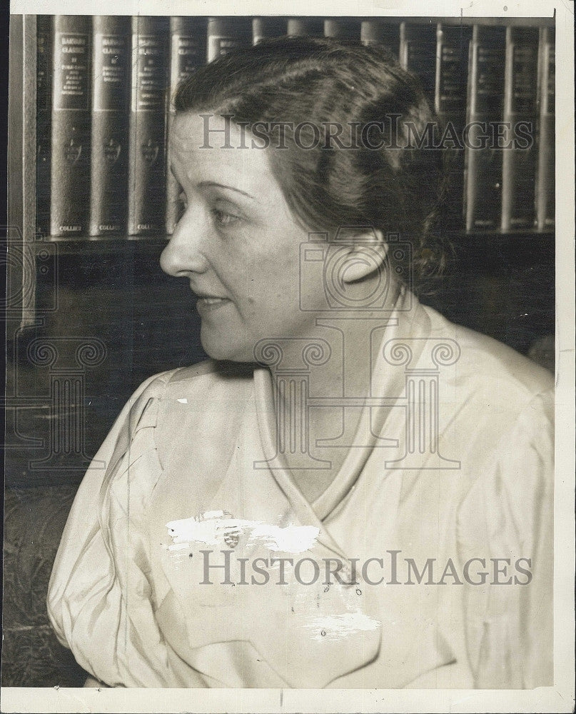 1934 Press Photo Mrs. Norman Brighton - Historic Images