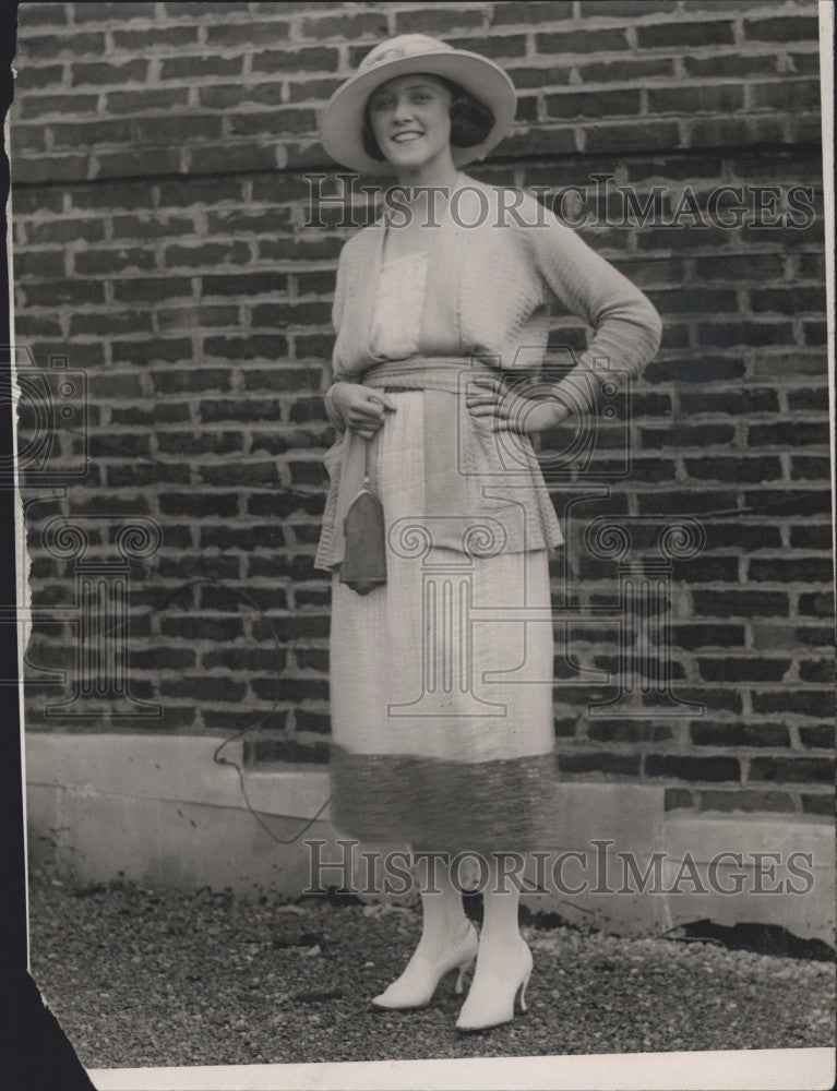 1924 Press Photo Miss Ann Connely Dillon - Historic Images