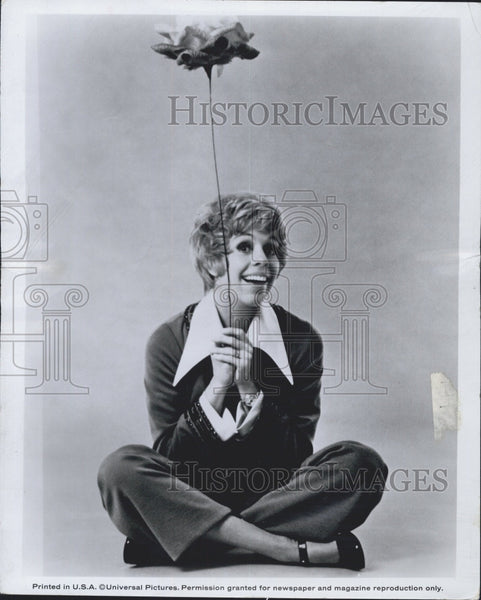 "1972 Press Photo Actor/Singer/Comedian/TV Host Carol Burnett ""Pete -N- Tillie"" - Historic Images"