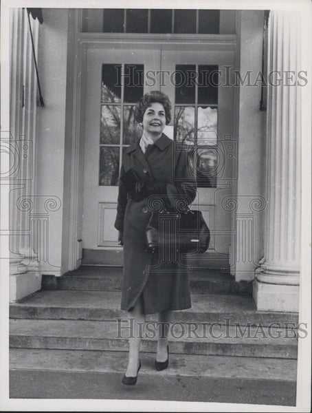 1961 Press Photo Marianne Mears - Historic Images