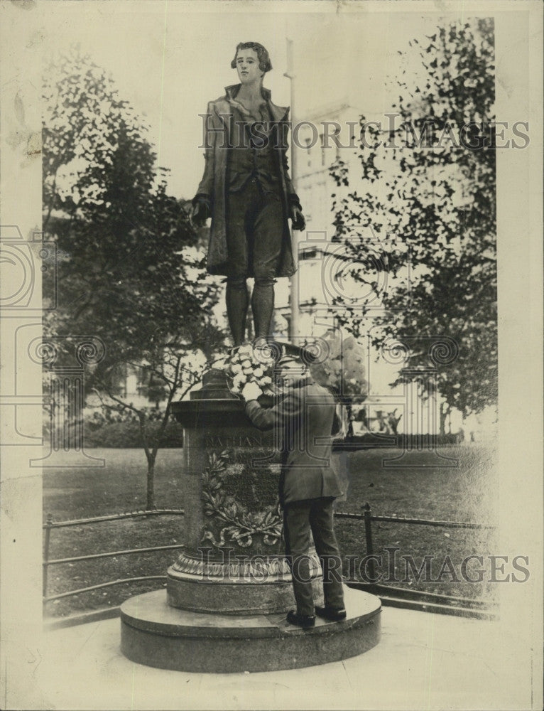 1926 Press Photo Nathan Hale - Historic Images