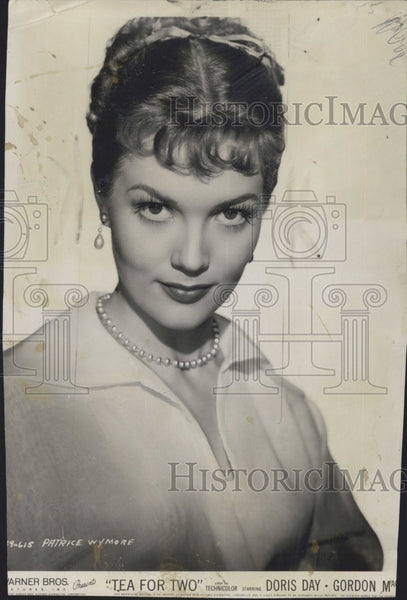 1950 Press Photo Actress Patrice Wymore Movie Tea For Two - Historic Images