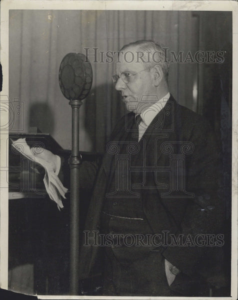 1930 Press Photo Mayor Malcolm Nichols of Boston. - Historic Images