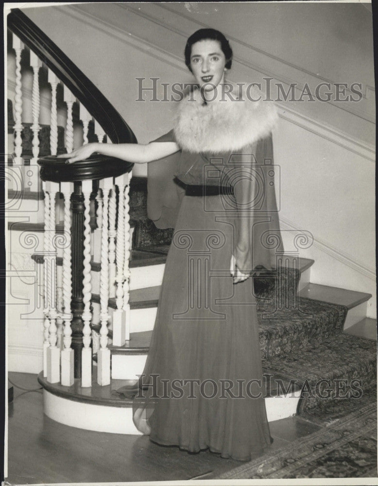 1935 Press Photo Mary Curley - Historic Images