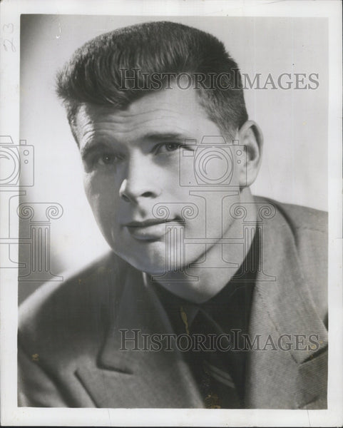 "1950 Press Photo Barry Nelson, American Actor stars in ""The Rat Race"". - Historic Images"