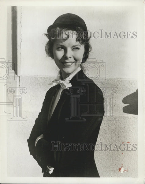 "Press Photo Actress Anne Helm Stars In ""The Double Life Of Julia Cosgrove"" - Historic Images"