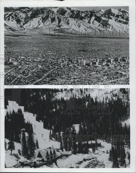 Press Photo Nature scenes of mountains in Utah - Historic Images