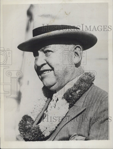 1941 Press Photo James W. Coffroth, sportsman in California - Historic Images