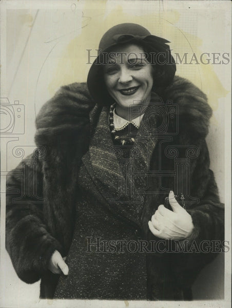 1930 Press Photo Wilda Bennett - Historic Images