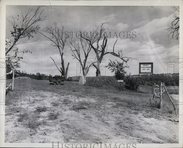 1959 Press Photo site where famous botanist Luther Burbank was born - Historic Images