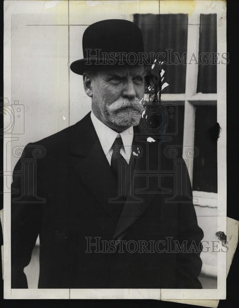 1930 Press Photo Chief Justice Charles Evans Hughes - Historic Images