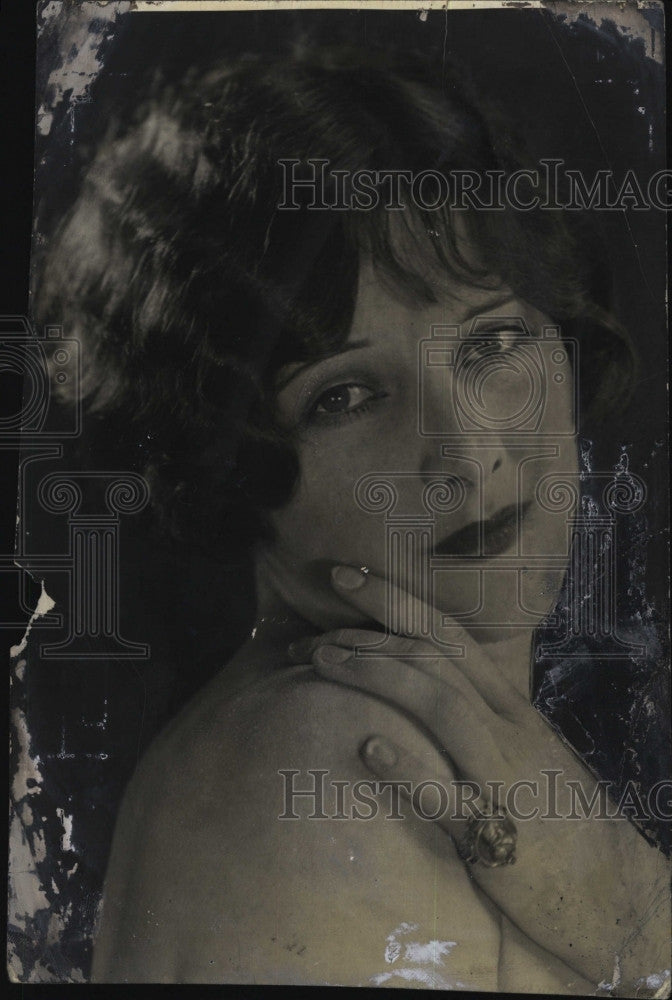 1925 Press Photo Dorothy Dunbar Well Costa, American Actress ans Socialite. - Historic Images