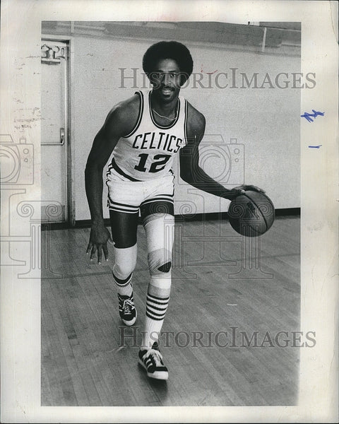 1978 Press Photo Boston Celtics player Don Chaney - Historic Images