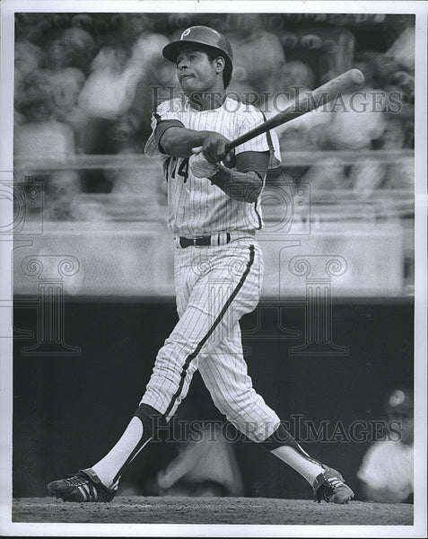1971 Press Photo Byron Browne Philadelphia Phillies Baseball Player 24 - Historic Images
