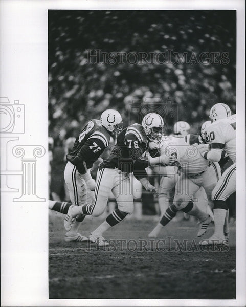 Press Photo Baltimore COlts, Joe Ehrman in action - Historic Images