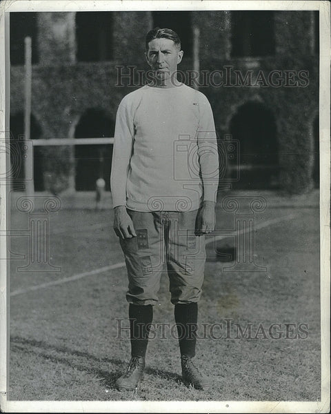 "1934 Press Photo Edward L ""Eddie"" Casey Head Coach of Harvard - Historic Images"