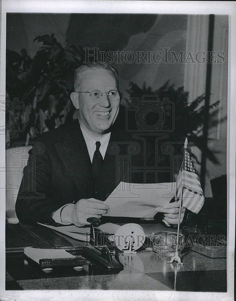 1952 Press Photo Governor of California   Earl Warren - Historic Images