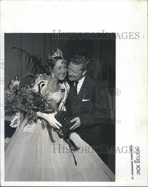 "Press Photo Darley Quillman ""Miss St Petersburg"" - Historic Images"