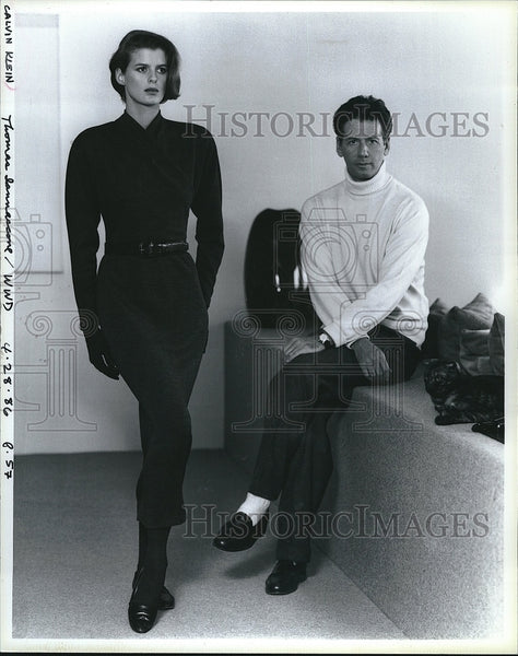 Press Photo Designer Calvin Klein - Historic Images