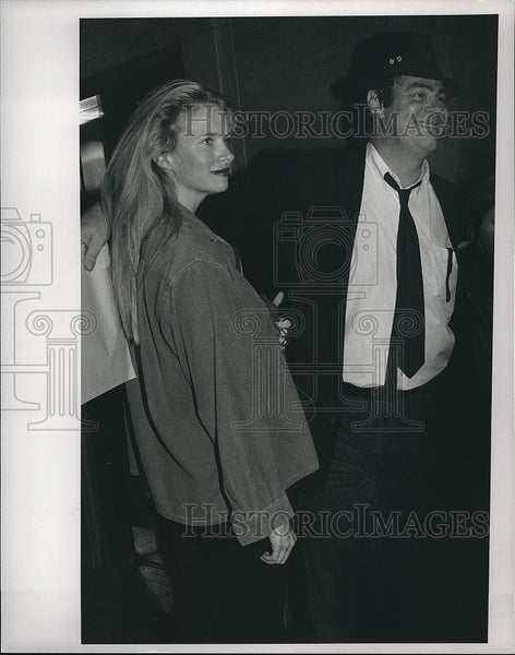 1992 Press Photo Dan Aykroyd, Comedian, Actor, Singer, Screenwriter - Historic Images