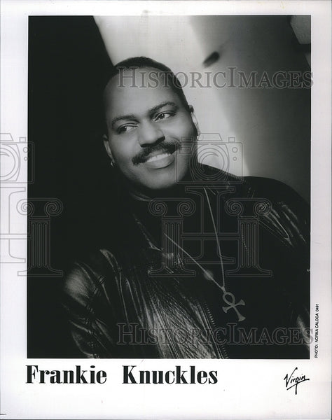 Press Photo Musician Frankie Knuckles - Historic Images