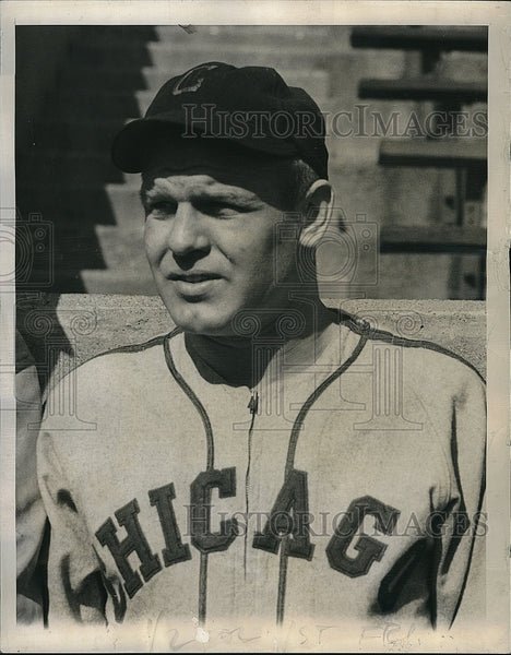1945 Press Photo Arthur Michalski Chicago White Sox - Historic Images