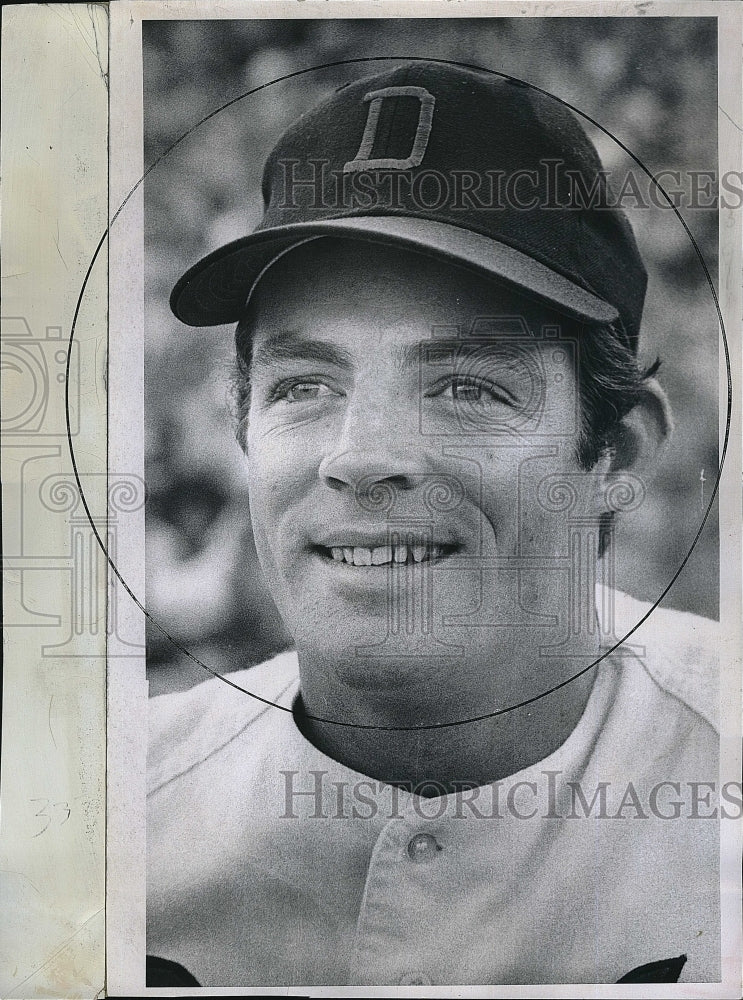 1971 Press Photo Jim Driscoll of the Denver Bears baseball club - Historic Images
