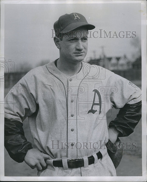 Press Photo Philadelphia Athletics Pitcher Don Black - Historic Images