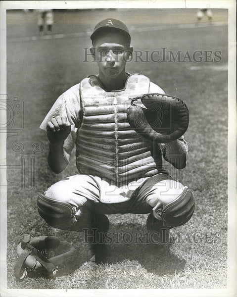 Press Photo Harold Wagner of  Philadelphia Athletics - Historic Images