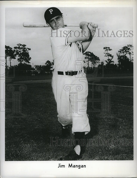 Press Photo Pittsburgh Pirates, Jim Mangan - Historic Images