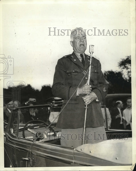 1938 Press Photo Brig.General Charles H. Cole in NYC - Historic Images