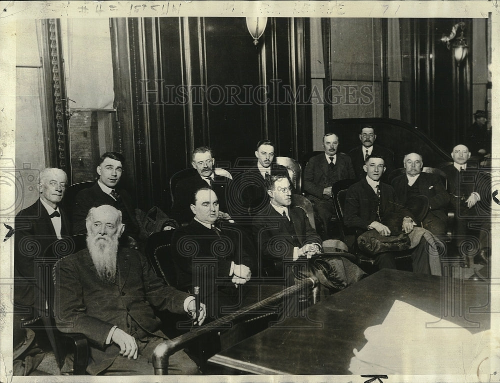 1917 Press Photo Jury at the Trial of Tom Mooney of San Francisco California - Historic Images