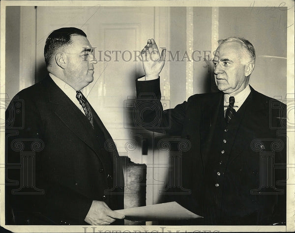 1938 Press Photo Gen Charles Hurley & Gen Charles Cole - Historic Images