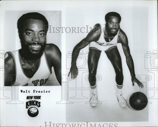 Press Photo Walt Frazier of the New York Knicks - Historic Images
