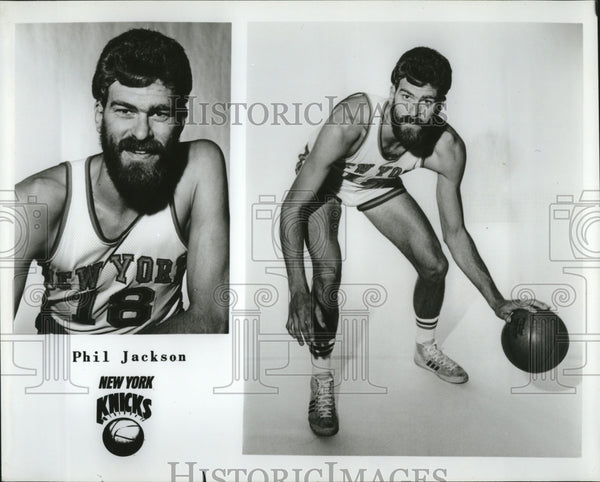 Press Photo Phil Jackson of the New York Knicks - Historic Images