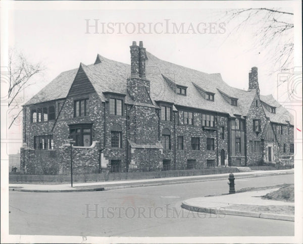 1932 Detroit Jewish Children's Home Press Photo - Historic Images