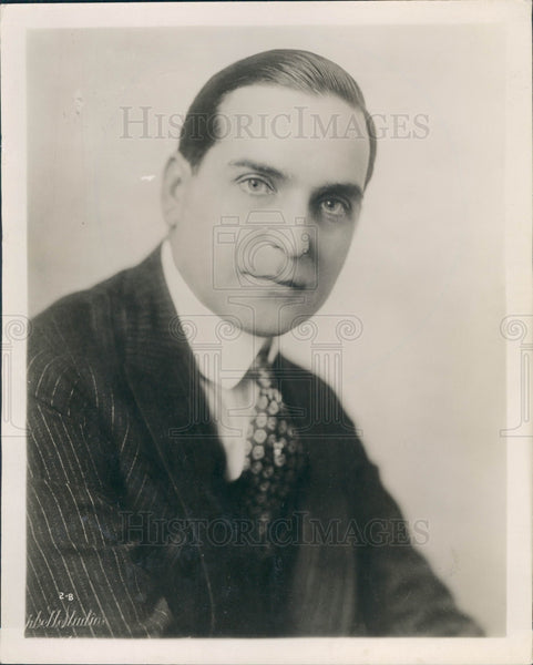 1919 Silent Film Star Earle Williams Press Photo - Historic Images