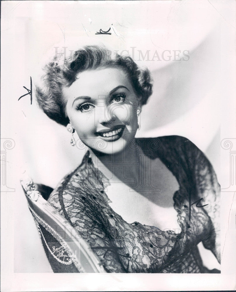 1950 Actress Martha Stewart Press Photo