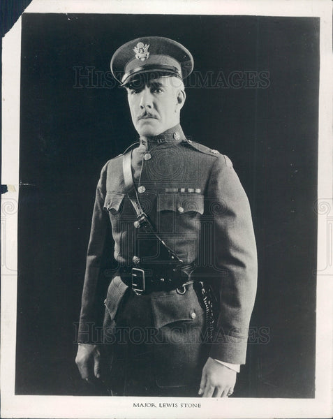 1925 Actor Lewis Stone Press Photo - Historic Images