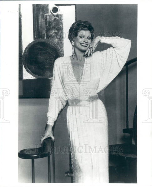 1990 Actress Juliet Prowse Press Photo - Historic Images