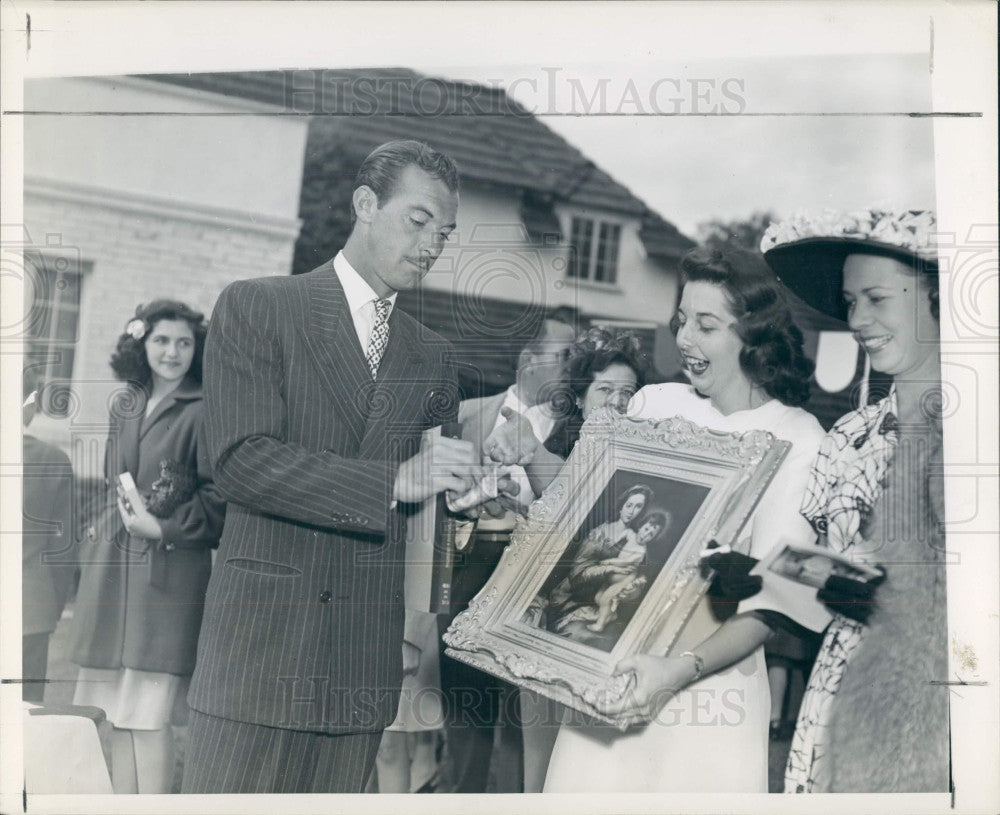1946 Actor Zachary Scott Press Photo - Historic Images