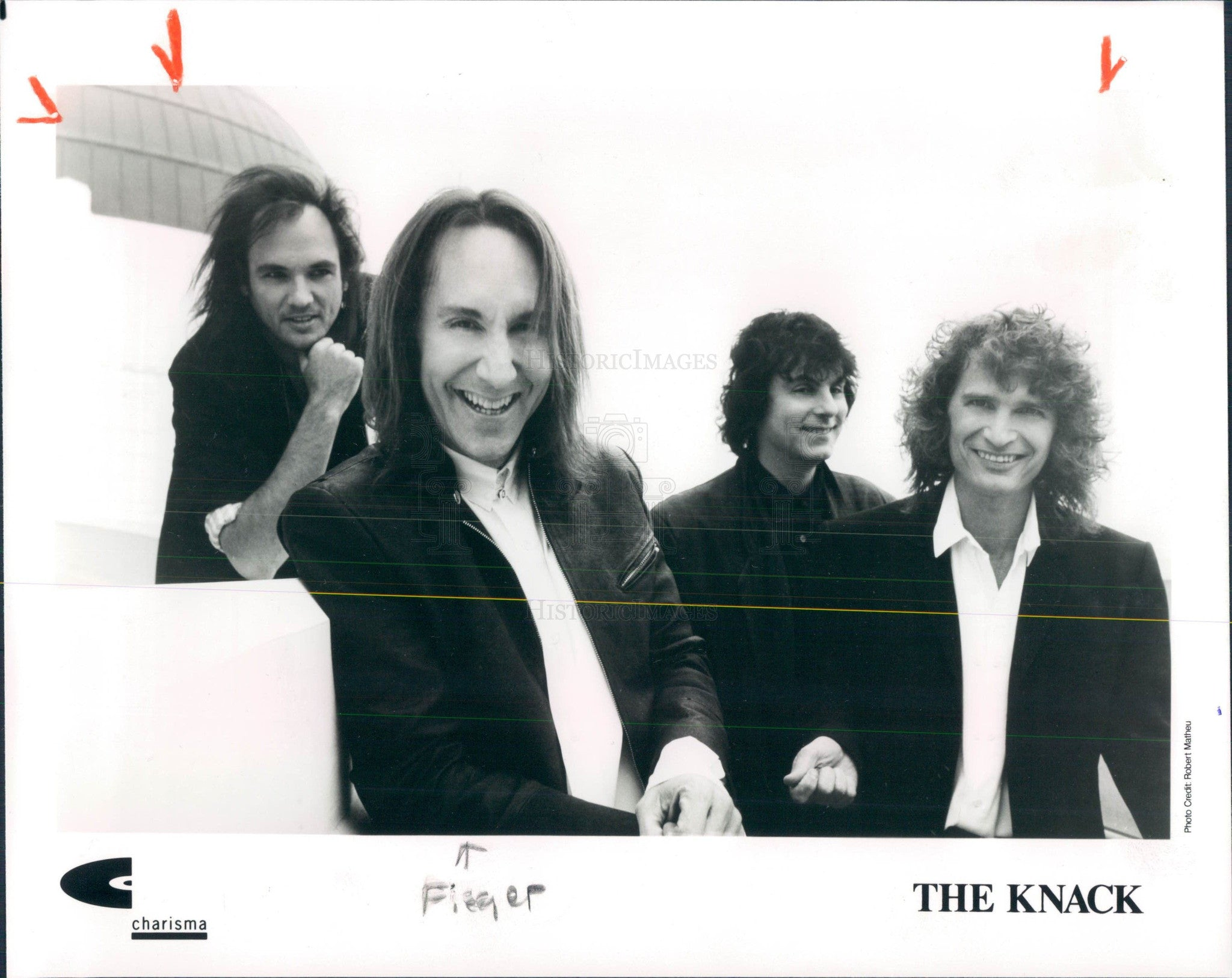 1991 Band the Knack Press Photo - Historic Images