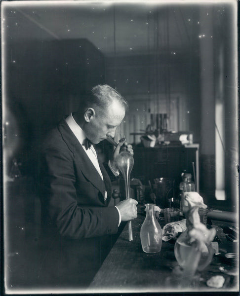 1936 Detroit Cancer Specialist Herman Koch Press Photo - Historic Images