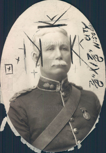 1911 Col Frederick H. Laing Press Photo - Historic Images